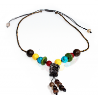 Handmade 5 Elements Jewelry: Necklace – Earth – Chestnut Brown