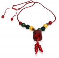 Five Elements Fire Red Necklace